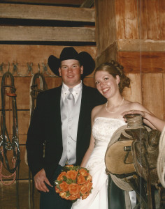 wedding - tack room